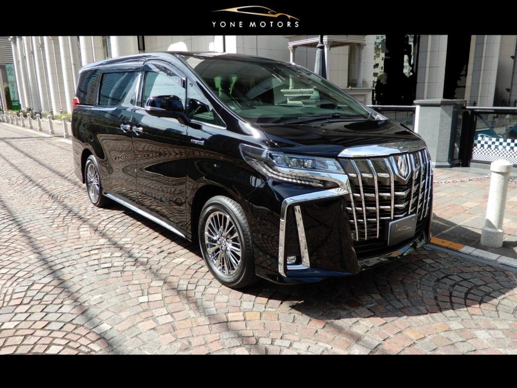 TOYOTA Alphard hybrid exective loungeS R/H・CVT AYH30 powered by I4+HV 2.5 L/152PS