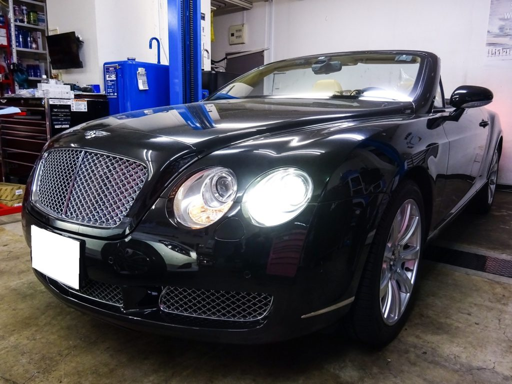 BENTLEY Continental GT CONVERTIBLE メンテナンス(12ヵ月点検整備)