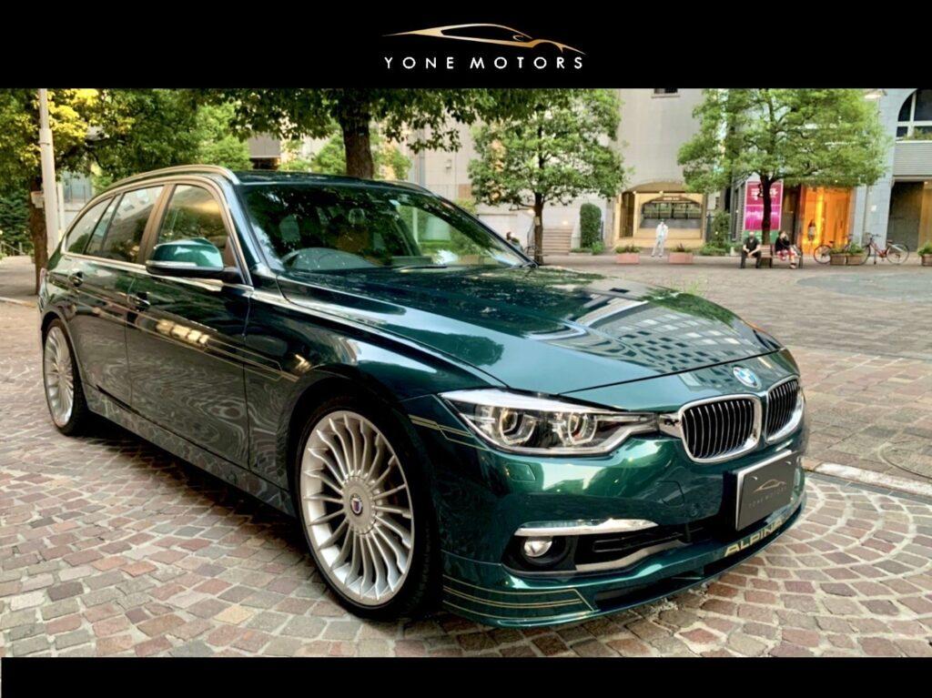 BMW ALPINA B3Touring  R/H・8SpeedA/T F30 powered by I6TwinTurbo 3.0L/462.0PS